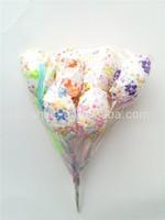 High-quality decorative foam easter eggs , 6 pcs easter egg picks