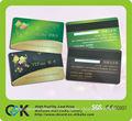 ¡Venta caliente! Fashional tarjeta del pvc de banda magnética hecha en China