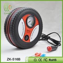 tyre shape 12V portable Car air compressor tyre inflator air pump