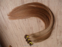 Buy from china online u tip hair extension without weft,4 bundles with top closures