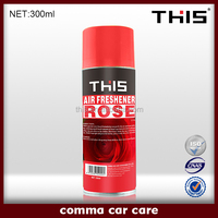 300ml ISO9001 MSDS msds spray air freshener msds