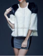 Hot Sale Mink Fur Coat with Top Quality Mink Pelt plate, mink fur skin