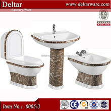washdown toilet bathroom, artistic sanitary ware art toilet pedestal basin