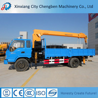 Widely Application Three Axis Crane Lorry Mounted Cranes
