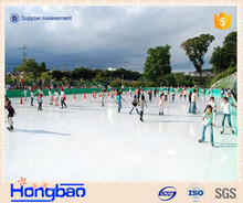 synthetic ice shooting pad/extreme glide synthetic ice/polyglide synthetic ice
