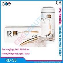 KD-35 192 needles zgts derma pen/cosmetic dermaroller/zgts titanium derma roller