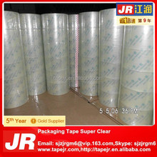 BOPP OPP Crystal Tape Super Clear Tape with No Bubble