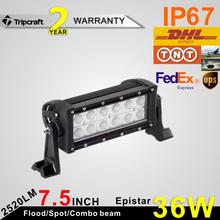2015 cheap price atv 36w led light bar for cheap used cars IP67 LED rigid light led work light