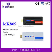INST RK3288 Quad core full hd 1080p porn video free real player tv dongle H.265 4K Player wholesale android smart tv set top box