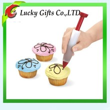 Cute Silicone Cake Decorating Pen Silicon Syringe for Icing Decorator