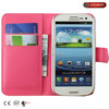 3d cover for galaxy s3, Customized smart phone case colorful leather case for samsung galaxy s3