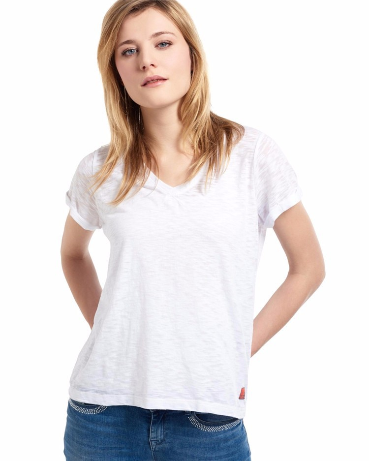 V Neck White T Shirts Wholesale Buy V Neck White T