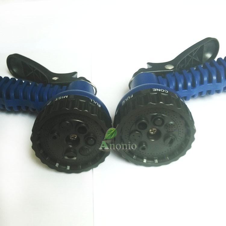 Flexible Hose Blue Water Garden Pipe With Spray Nozzle Garden Hose 100FT Magic Hose Sprayer Expandable Watering Hose