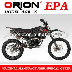 China Apollo ORION EPA 250CC Dirt Bike Motorcycle 250cc Off Road Bike AGB-36