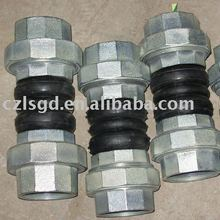 DN50mm stainless steel screw flexible rubber joint/pipe fitting