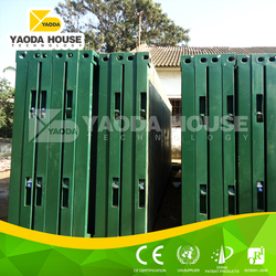 Strong steel structure container kit homes