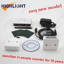 2015 NEW IR sensor LCD counting customer / bi-directional people counting/ customer counter