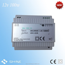 High voltage power supply Constant Voltage 100W 12V Din Rail Switching MODE Power Supply