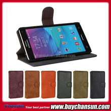 Wallet leather case for Samsung Galaxy Note 4 N9100