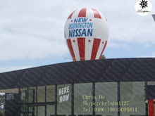 30' Big inflatable hot air balloon with banner