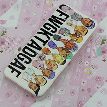 High quality Cartoon figure design phone case custom printing hard plastic cell phone case for iphone 5C