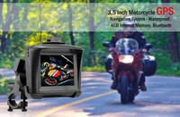 3.5 inch GPS navigation,free map installed,beat GPS,touch screen,video,audio,games,motorcycle GPS