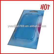 Top hot sales package plastic card box in 2012