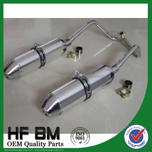 high performance 250cc, 400cc exhaust muffler off-rord bike, aluminium alloy exhaust silencer motorcycle