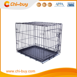 2015 Hot Sale Foldable Single Door Pet Crate Cage for Dogs