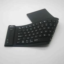 Mini wireless bluetooth silicon waterproof flexible keyboard