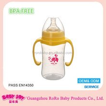 8oz 240ml baby feeding milk teat & bottle babies products free samples print logo