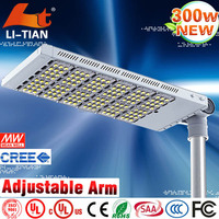 High quality China Manufactory Meanwell driver energy conservation 300w led street light