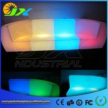 2015 hot sale fashionable PE plastic lighting sofa