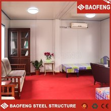 Good PU sandwich panel container house for cheap