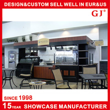 Best selling Manufacturer cake display showcase with Marble base or stainless