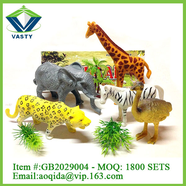 Mini world wild plastic toy animals toy ox, View toy ox, VASTY Product ...