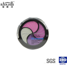 shining color eyeshadow and blusher with black eyeshadow case