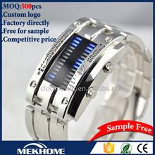 New Products Wrist Watch Iron Samurai commodore LED Watch