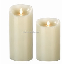 battery operate real wax candleled flickering tea lights battery operated candles