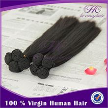 Full Cuticle Popular Style can be dyed and ironed virgin indian human hair