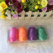 Mother's Day Theme Solid Colors Gift Ribbon Egg