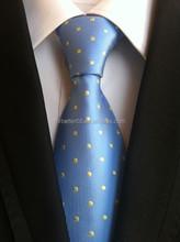 Hot sale little dots polyster fabric neckties