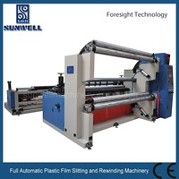 Full Automatic Plastic Film Slitting and Rewinding Machinery