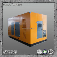 YUCHAI engine 400/230v water cooled diesel soundproof generator 75 kva