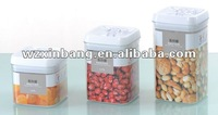 3pcs Ideal easy lock airtight seal food storage container for any Household