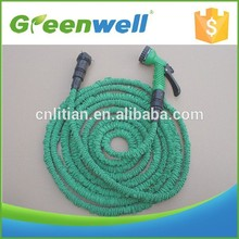 On time delivery Double layer latex 25/50/75/100/125ft expandable latex hose for garden