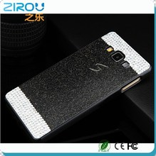China Luxury Flash Giltter Rhinestone hard back cover Glistening Bling Diamond protective phone case for Samsung Galaxy A3 A5 A7