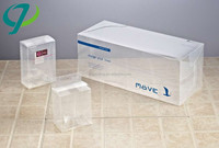 Good quality hot selling pvc package box/custom pet pvc box plastic packing/pvc clear box