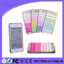 DIY Mixed Colors Diamond Bling Bling Cheap Mobile Phone Case For Iphone 6