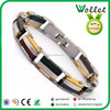 gentleman's high quality fashion positive energy magnetic golf bracelet